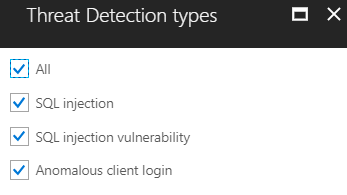 Threat Detection Types