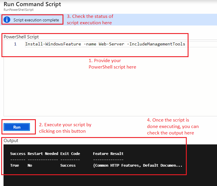 Azure Tips & Tricks - Quickly run commands or script on an